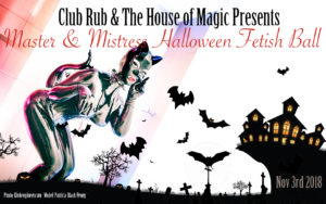 Master and Mistress Halloween FetishBall