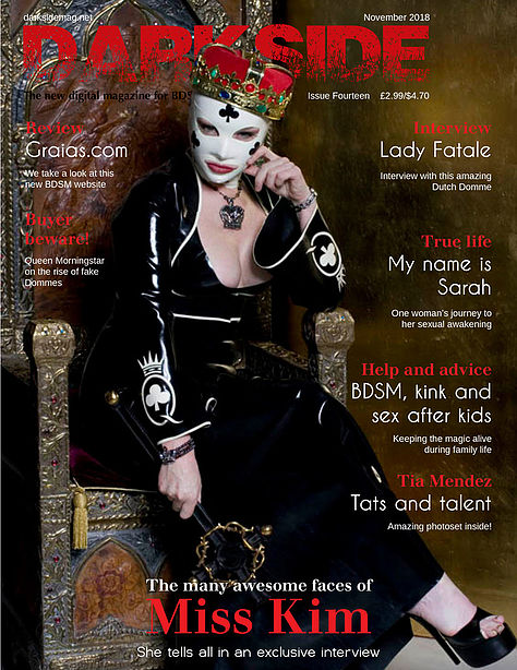 Cover Darkside Magazine