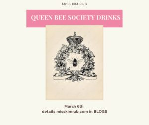 Queen Bee Society Drinks