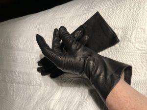 Glove Fetish Worship and Dominance