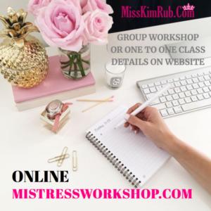 Mistress Workshop Online